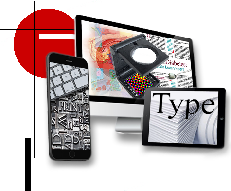 MediDesign Frank Geisler, Typografie Typodesign