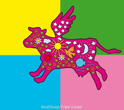 Grafikdesign Marke Pop Art Werbung Frank Geisler